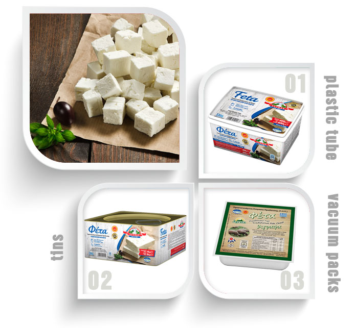 Greek feta lytras