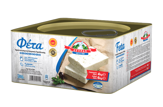 Lytras Feta blocks in brine